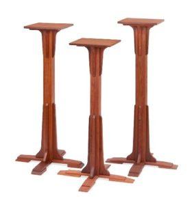Redwood Pedestals